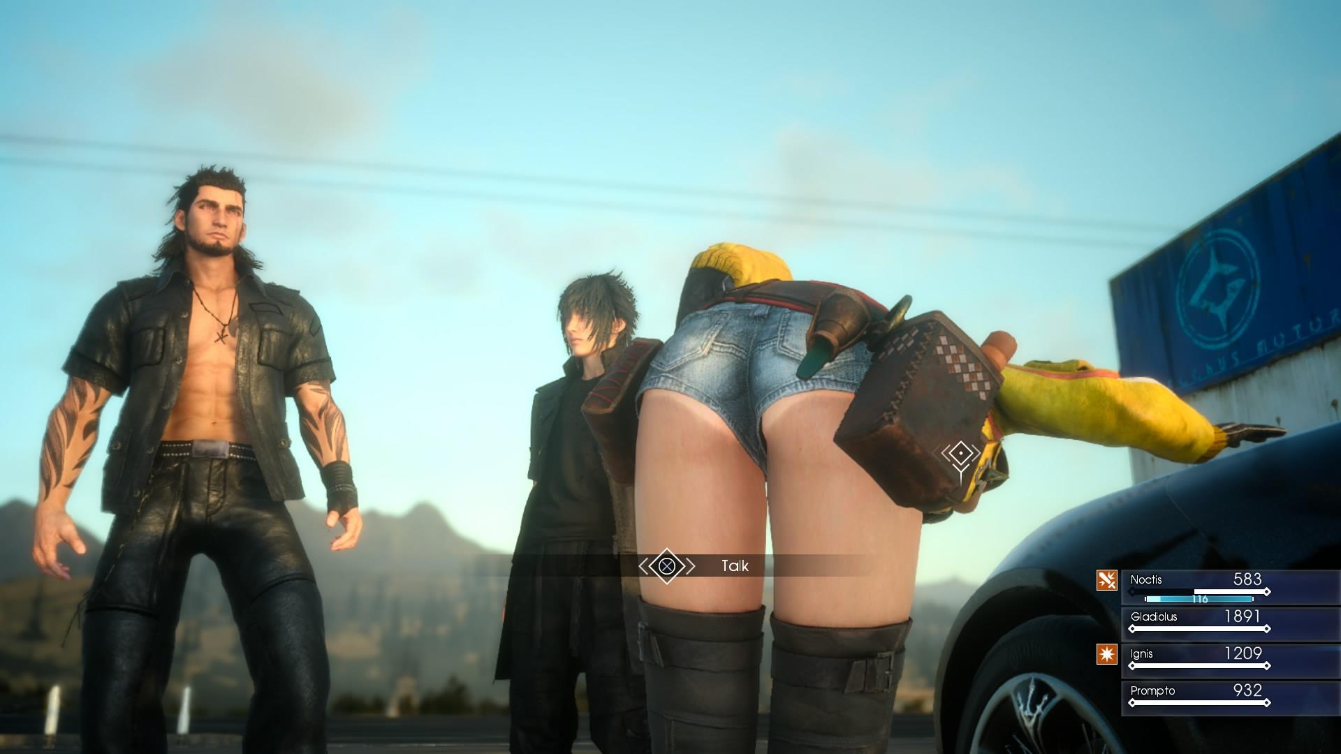 Final Fantasy Xv Glitch Makes Areana A Permanent Party Member