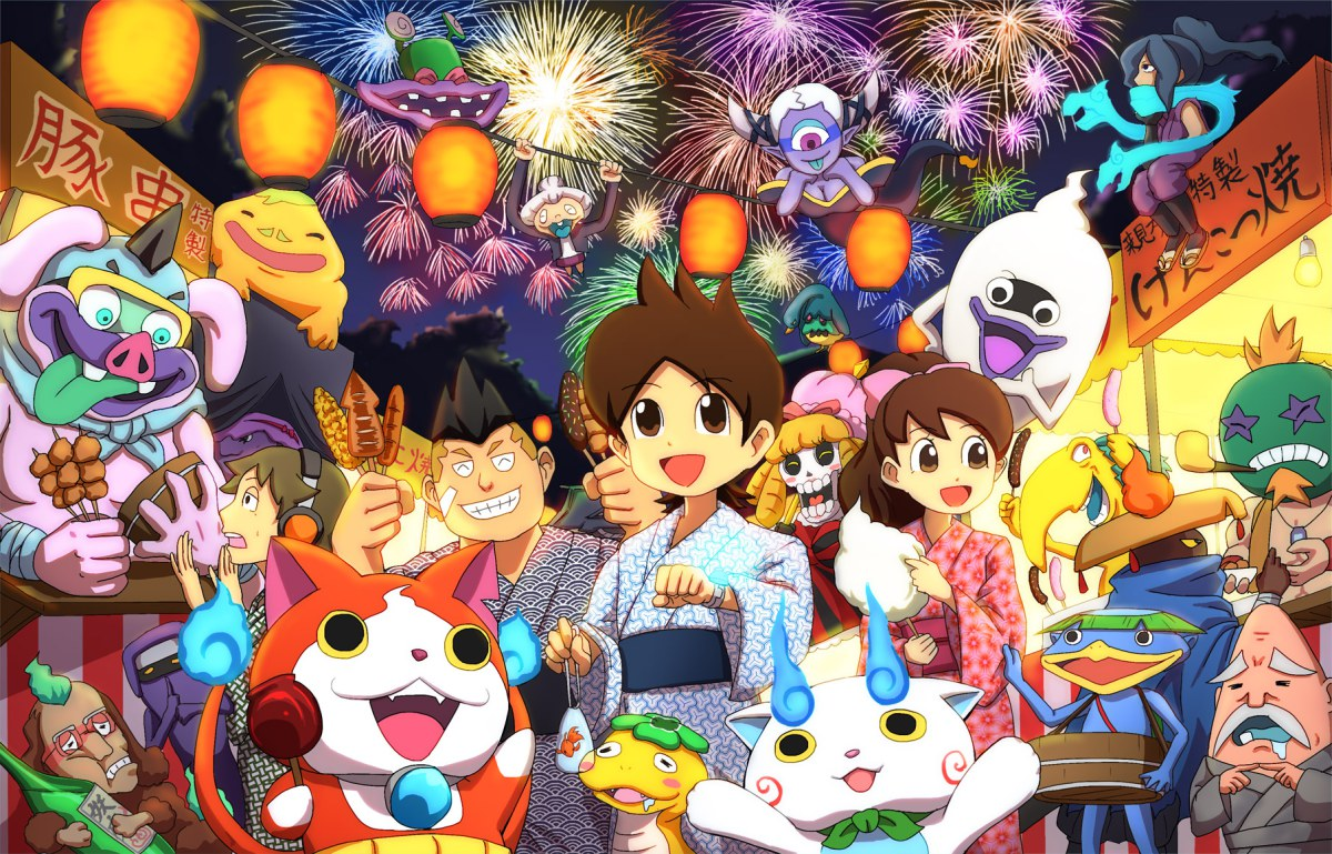 The Third Yo Kai Watch Movie Beat Out Star Wars At The Japanese
