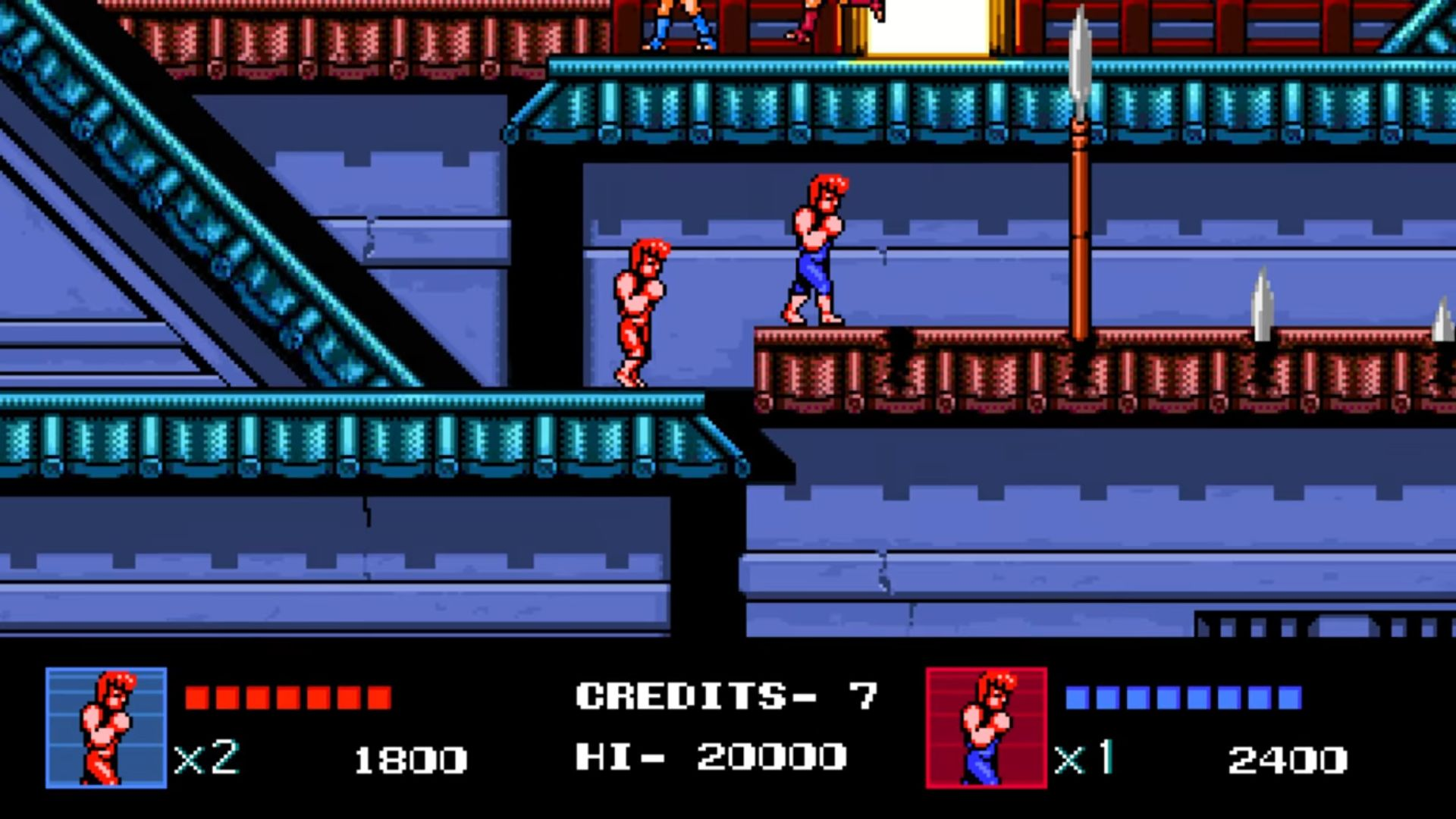 Newcomer Double Dragon Iv S 8 Bit Graphics Prey On Your Nostalgia