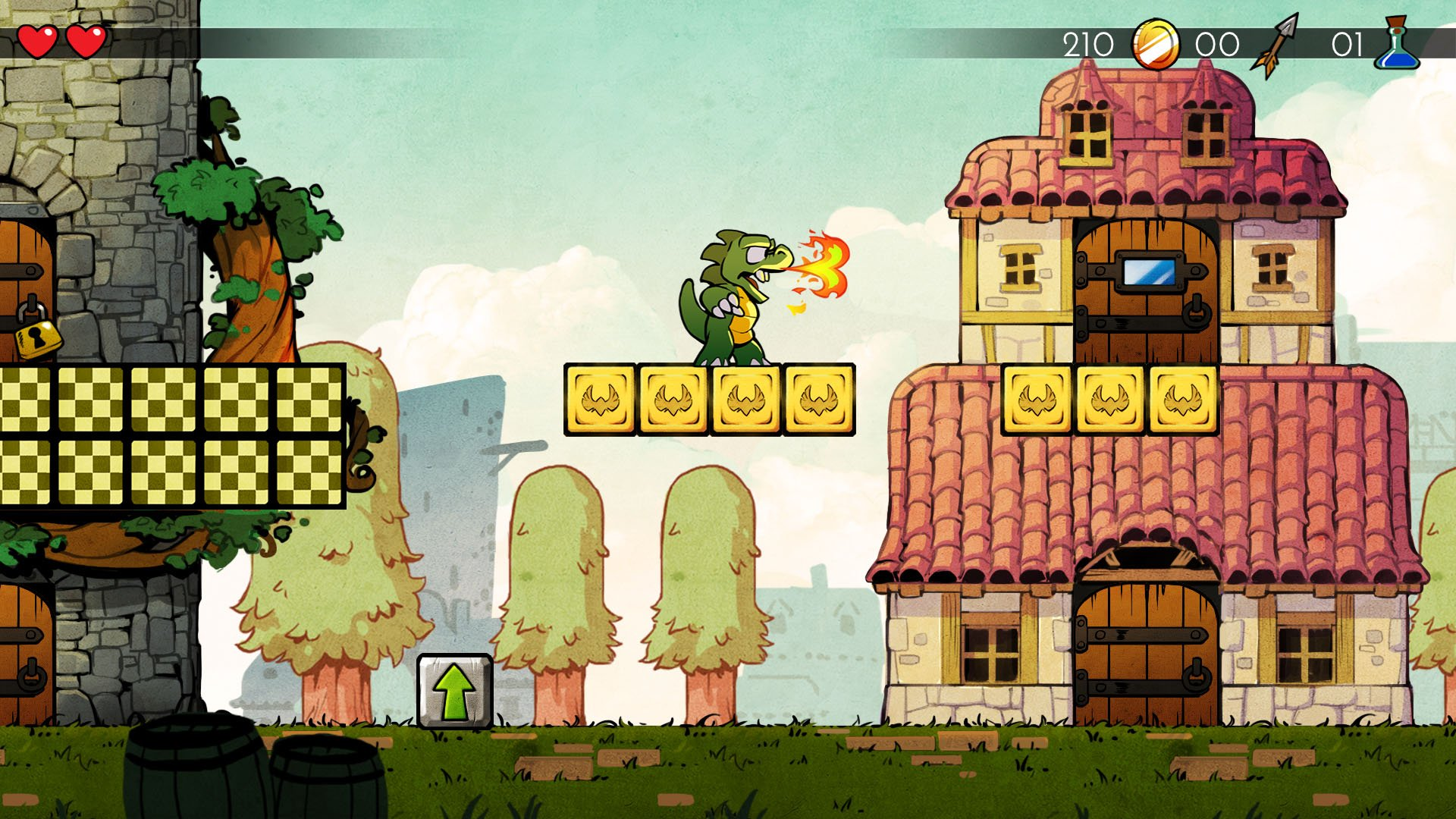 Wonder Boy The Dragons Trap Will Be Coming Out Some Time This Year To Consoles And PC