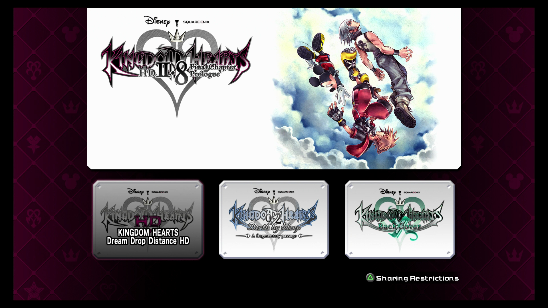 Kingdom Hearts 3d Translates Well From Portable To Console