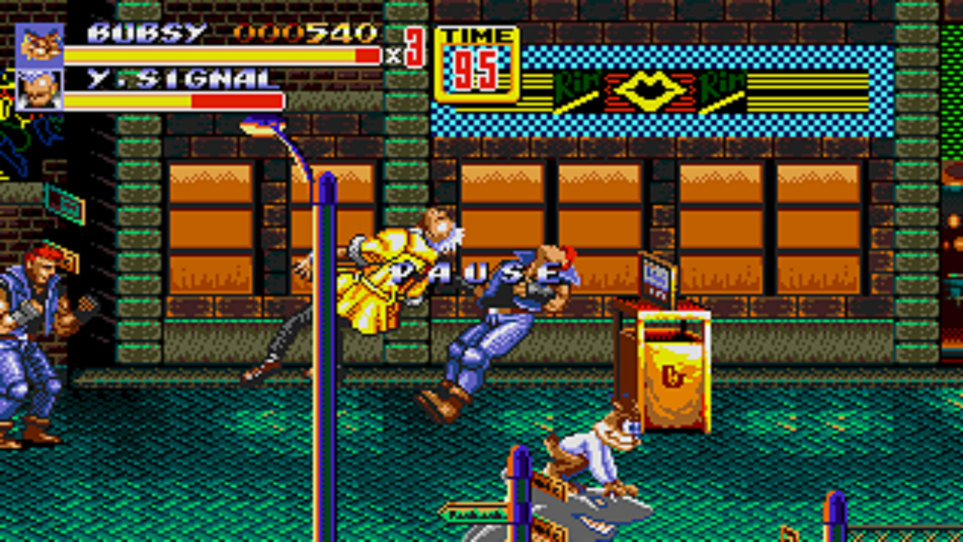 Some Mad Genius Hacked Bubsy Into Streets Of Rage 2