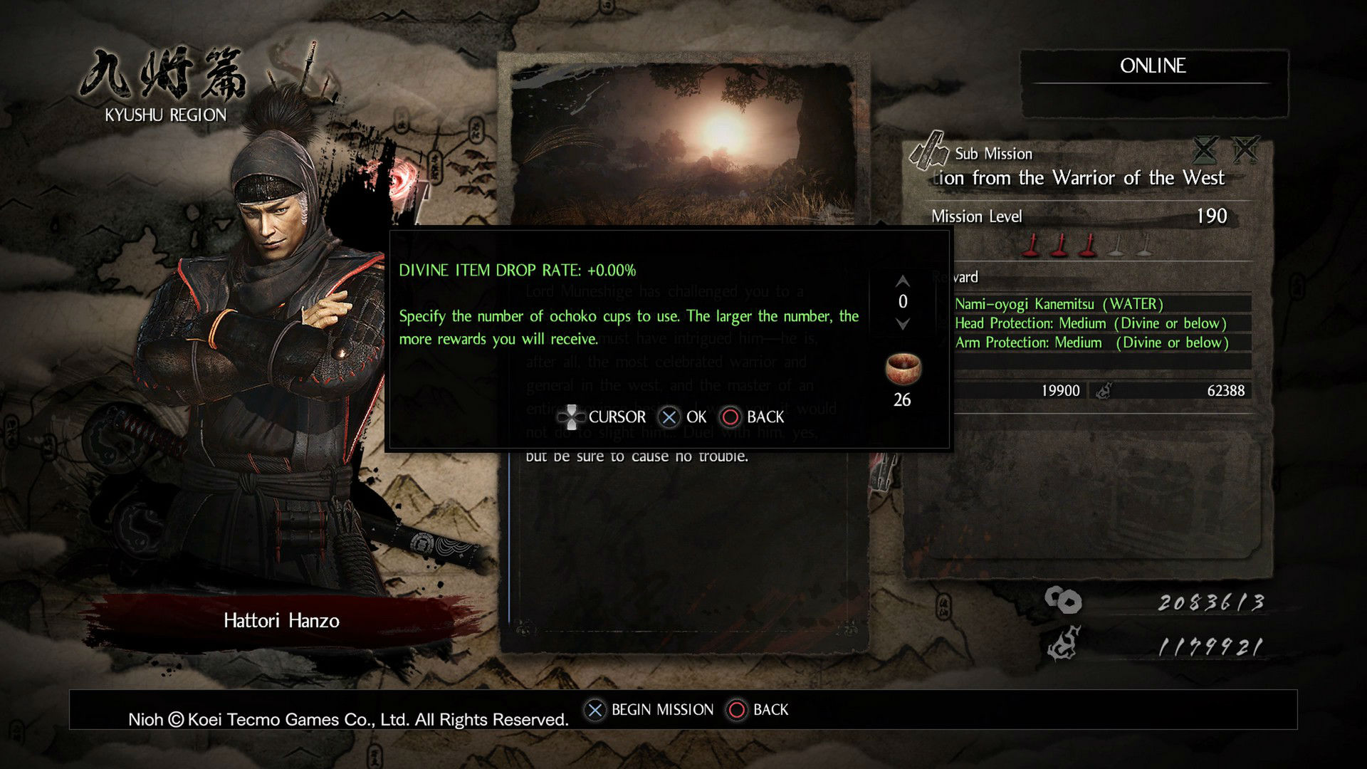 Here's how New Game+/postgame works in Nioh photo