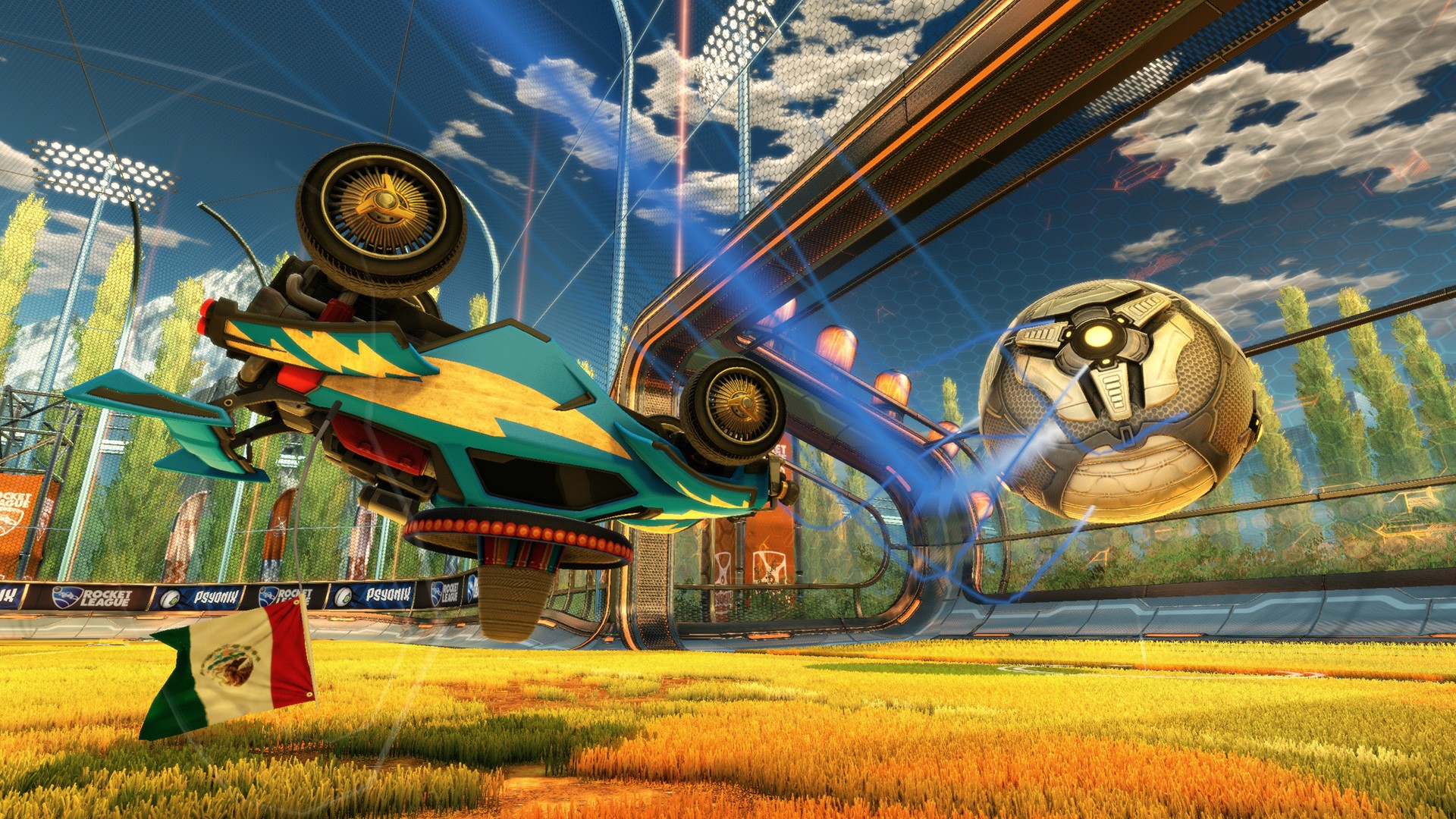 New Rocket League PS4 update enables 60 FPS on base model and the Pro