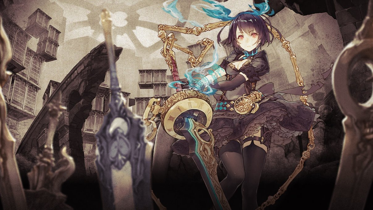Taro Yoko's next project is a mobile game titled SINoALICE screenshot