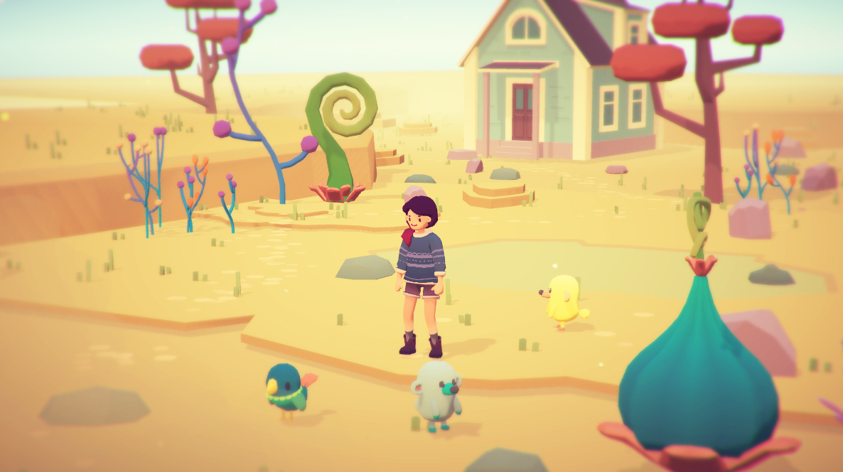 Double Fine picks up Ooblets, a real cute game about farming and creature collecting screenshot