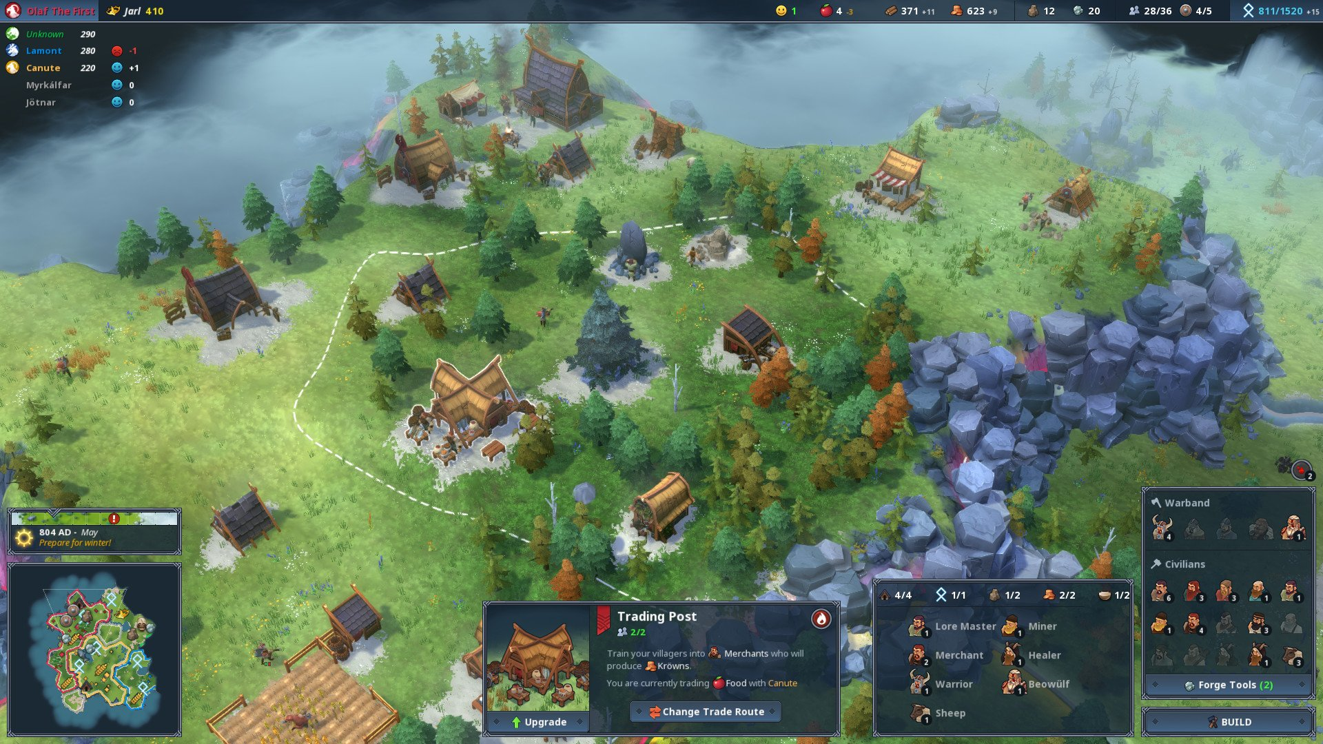 Pick up northgard for steam with a 20 discount and refund guaranteed if youre an hour in and you dont see anything you like it seems like a good idea to partake in the refund option and revisit northgard again in a few ccuart Gallery