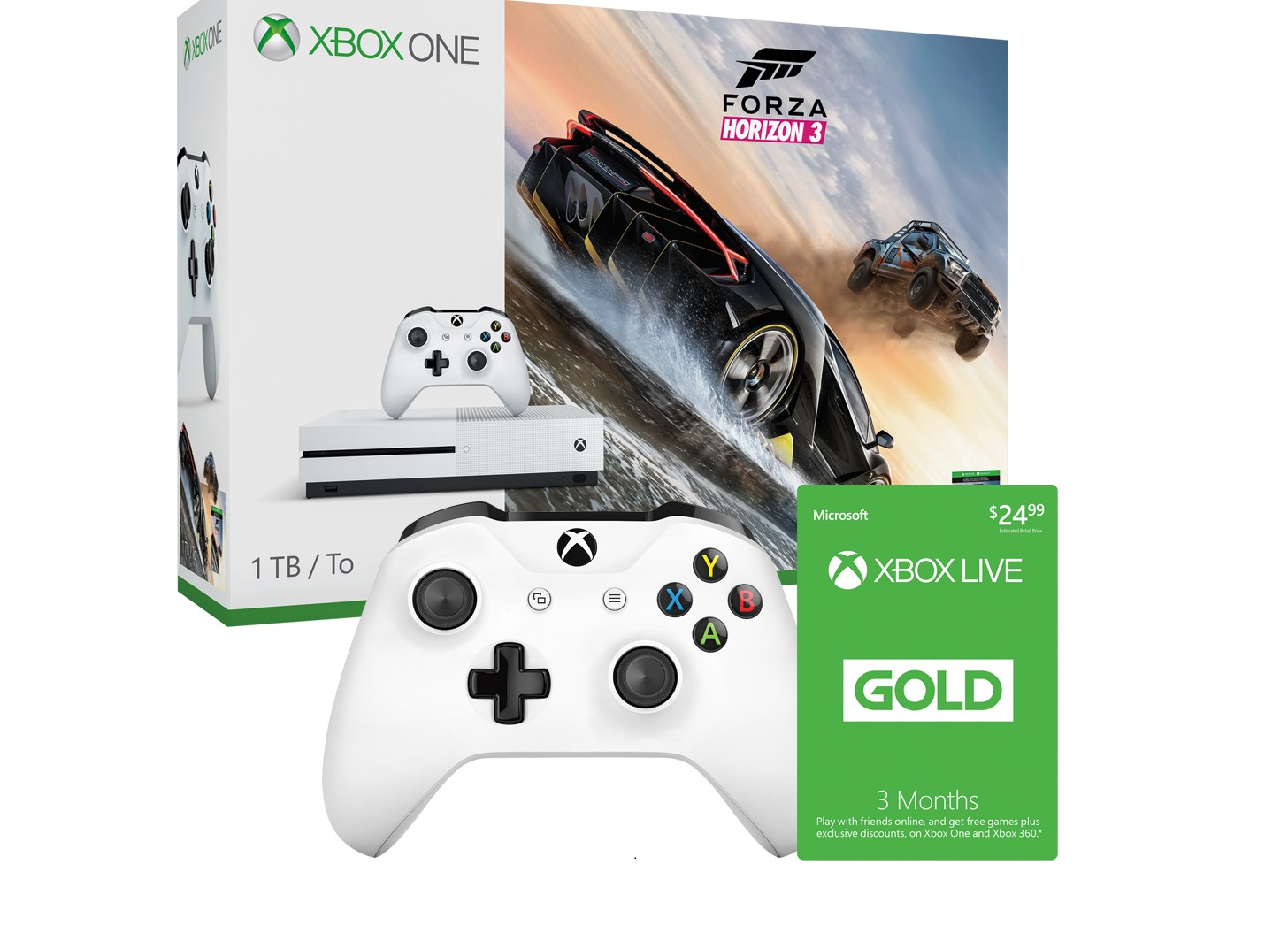 And remember xbox live gold is more than just great deals on games - Deal Xbox One S Ups The Ante With Free Xbox Live Gold And Controller