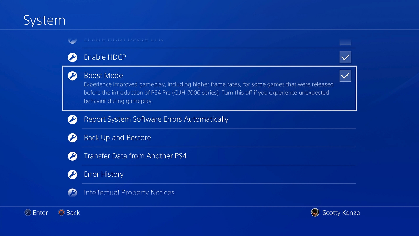 External hard drive support/Pro Boost Mode arrive on the PS4