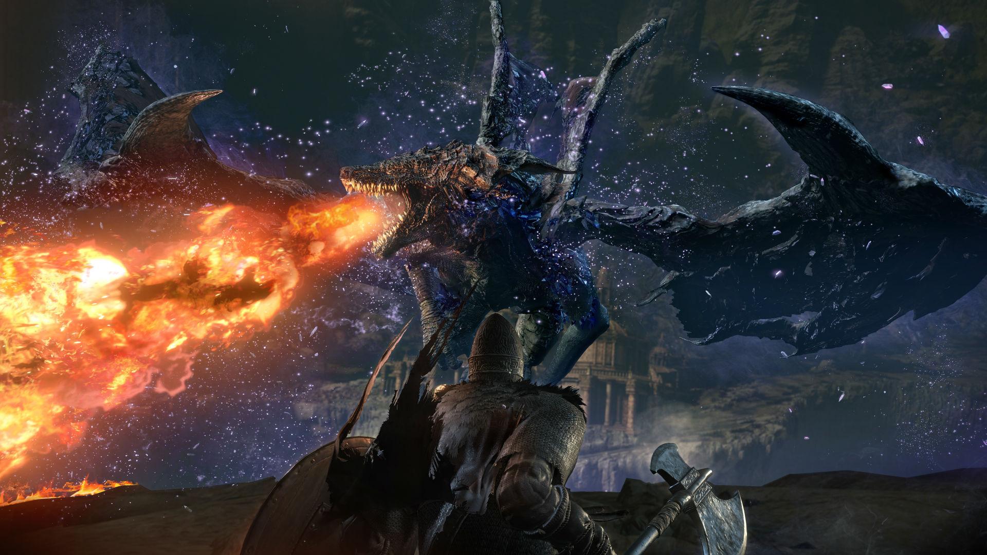 Dark Souls III The Ringed City Gets Darkly Gorgeous Screenshots