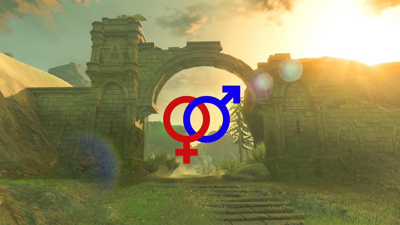 Exploring Hyrule and gender identity screenshot