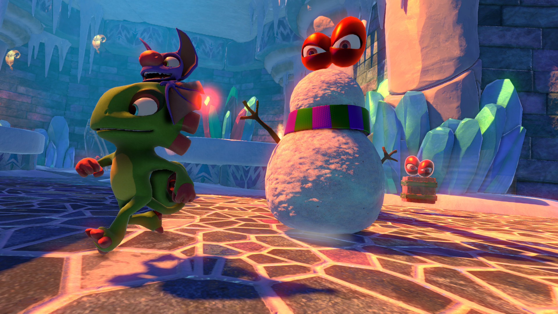 Based on Yooka-Laylee's Trophy list, there will be plenty of