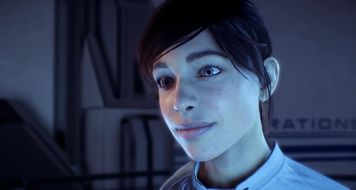 Dumb internet mob attacks woman over Mass Effect: Andromeda animations screenshot