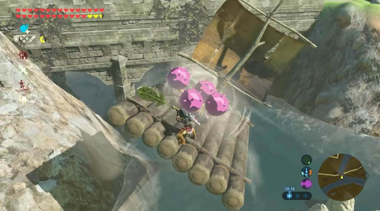 You can build an airship in Zelda: Breath of the Wild screenshot