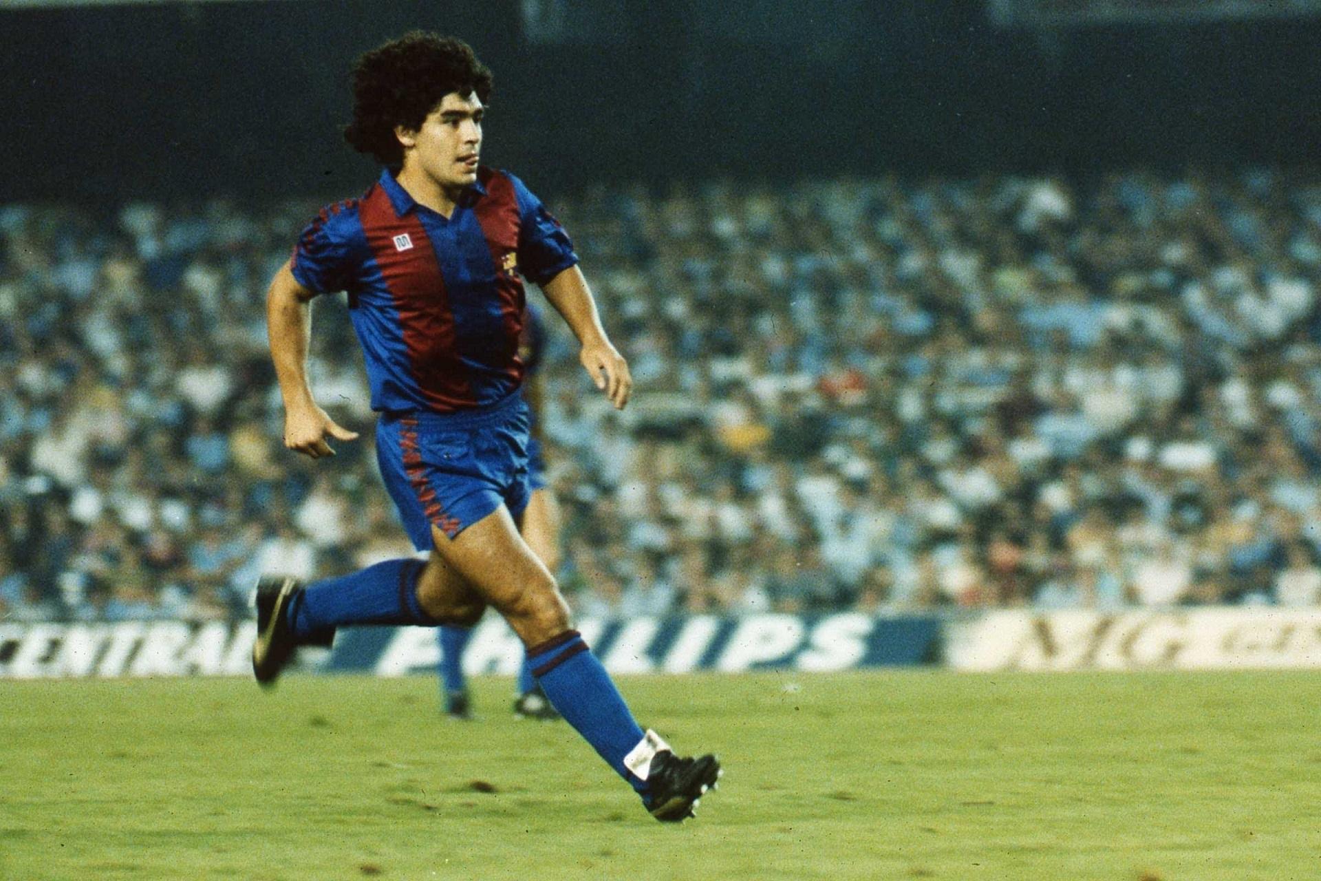 Argentine soccer great Diego Maradona is suing Konami