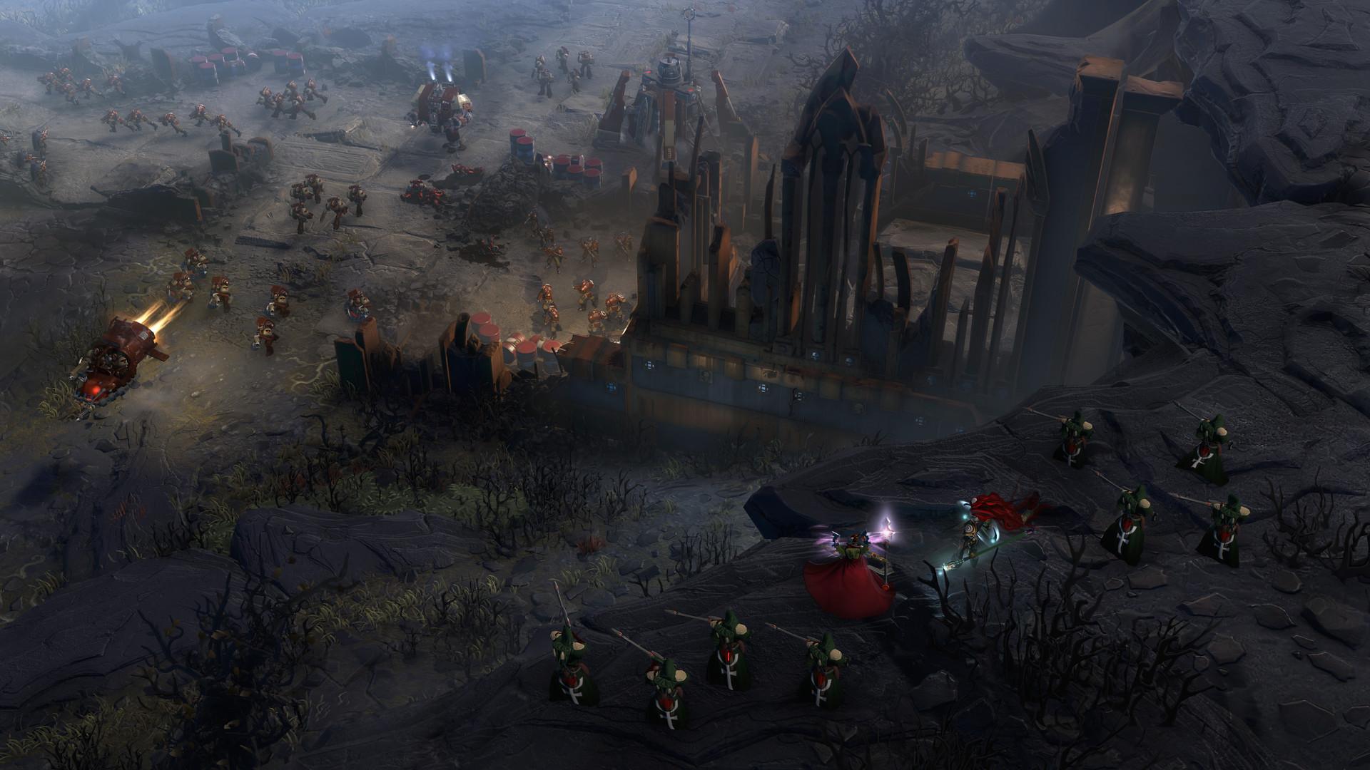 Review: Warhammer 40,000: Dawn of War III screenshot