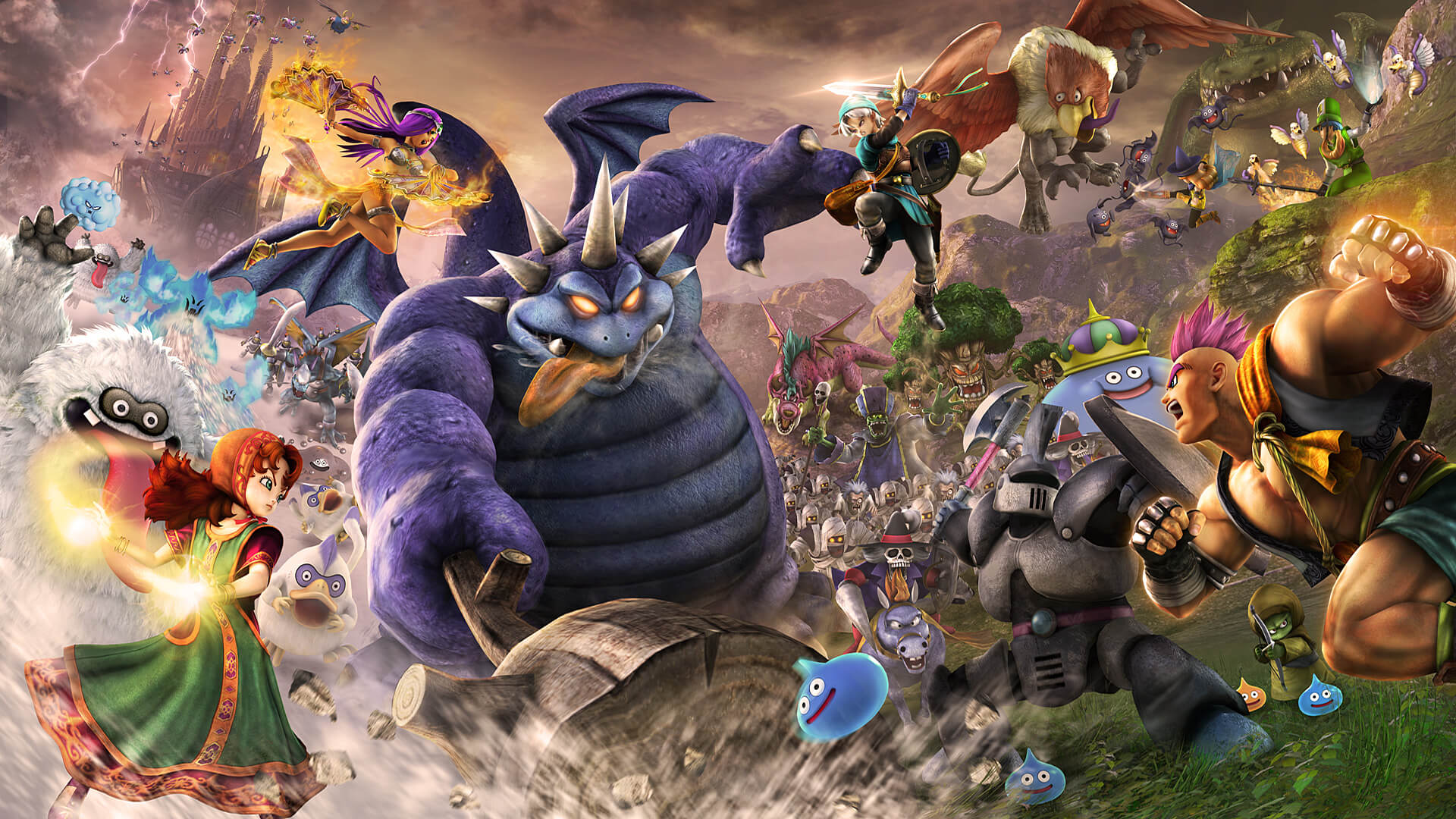 Review: Dragon Quest Heroes II screenshot