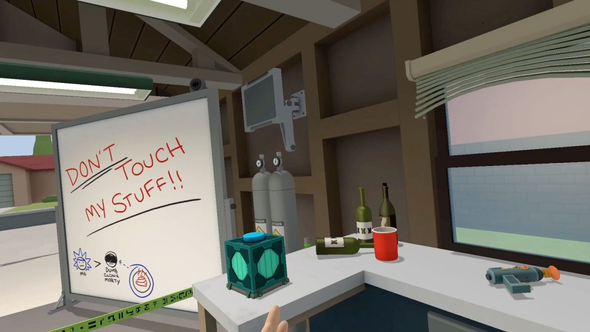 Blaze it with a new Rick and Morty game on April 20 screenshot