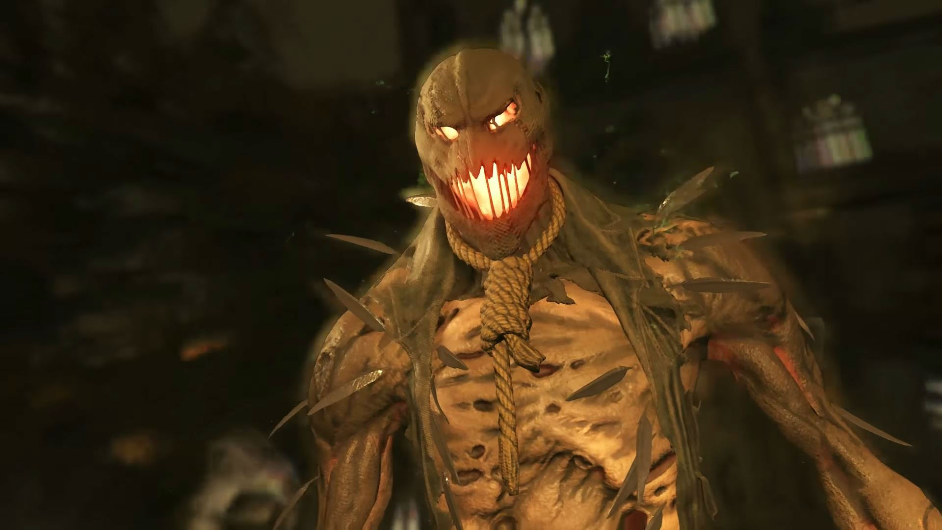 If only Scarecrow had a brain in his full Injustice 2 gameplay trailer screenshot