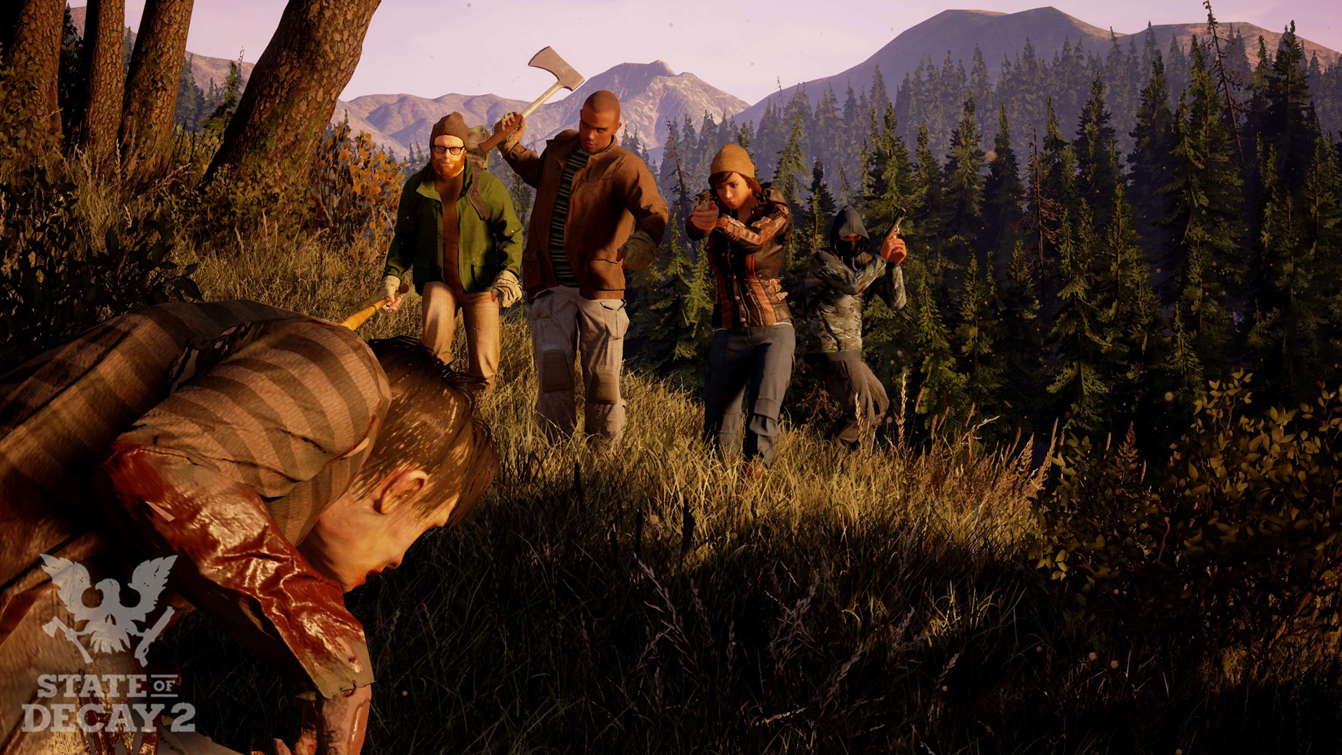 Undead Labs talks maps and survivors in State of Decay 2 screenshot
