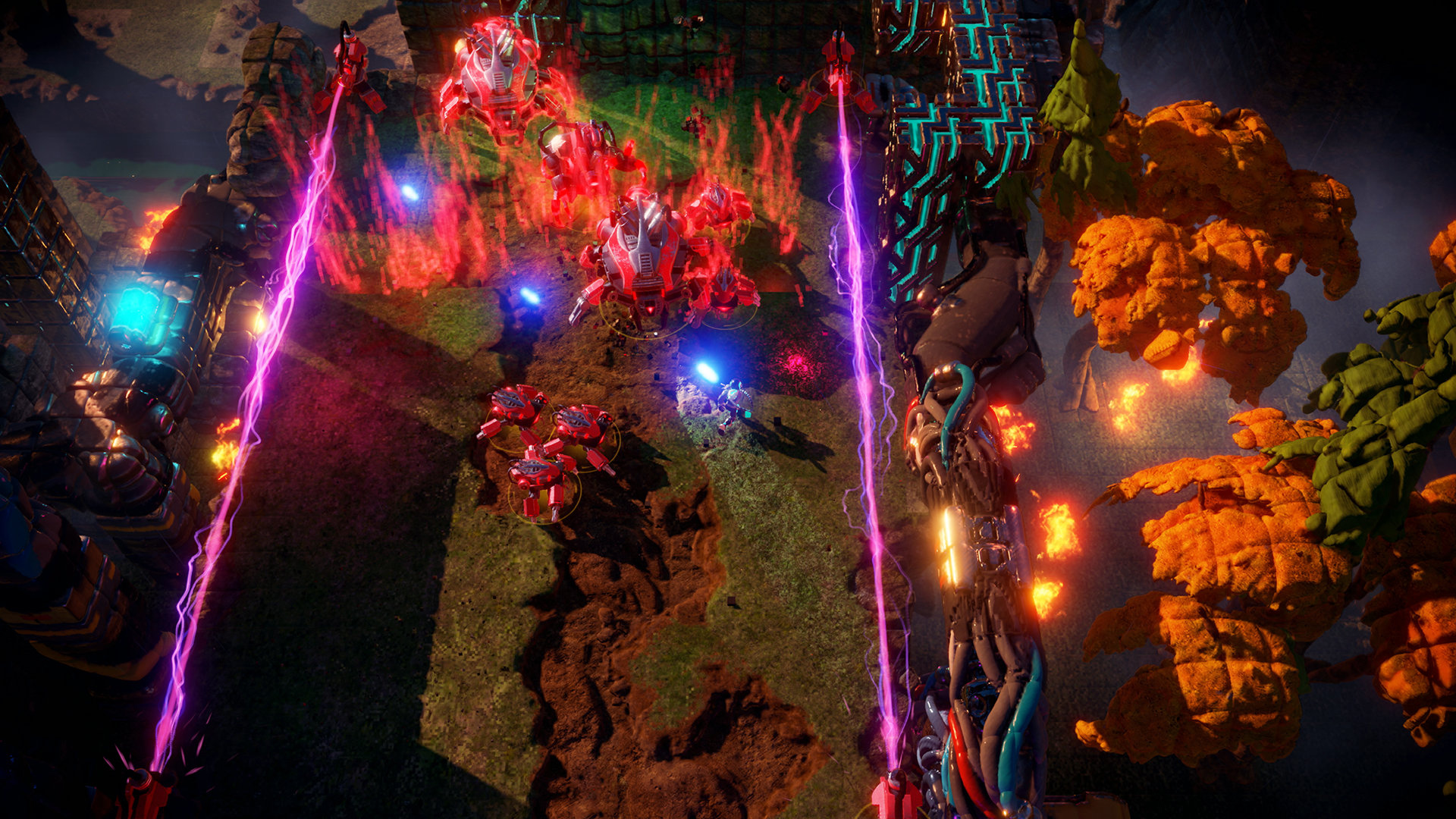 Housemarque's Nex Machina will have a replay system and seasons screenshot