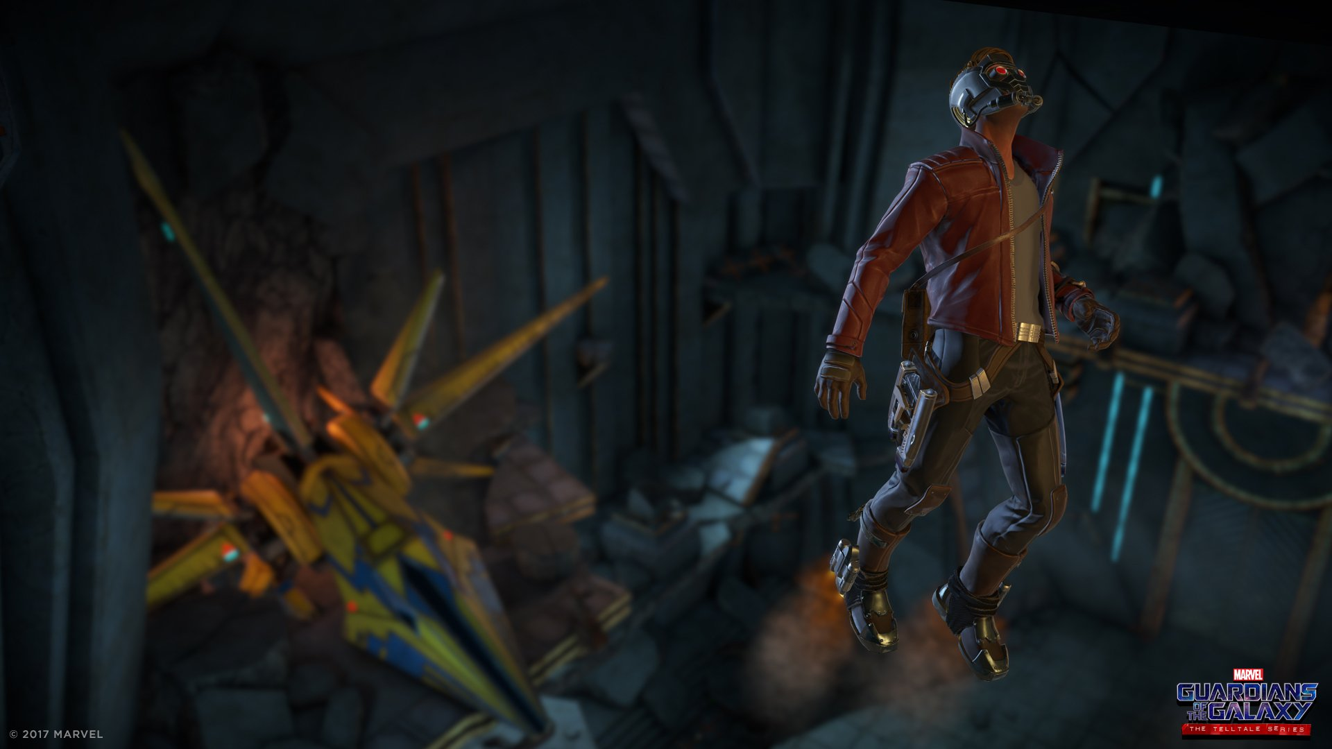 Telltale's Guardians of the Galaxy starts tomorrow, is this how they die? screenshot