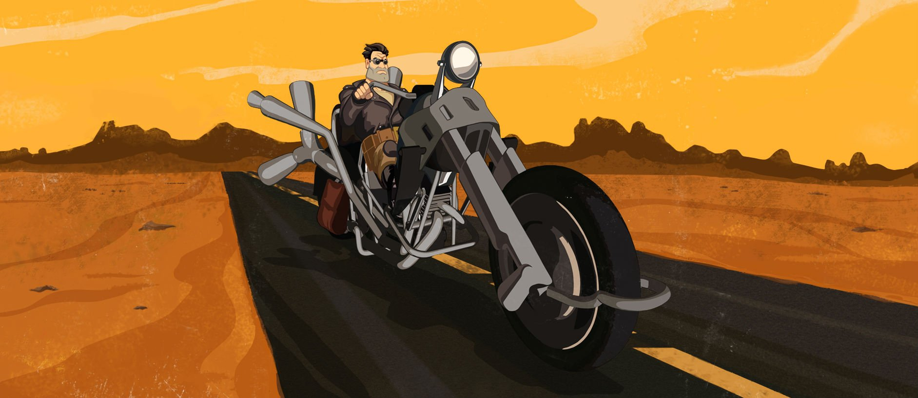Review: Full Throttle Remastered screenshot