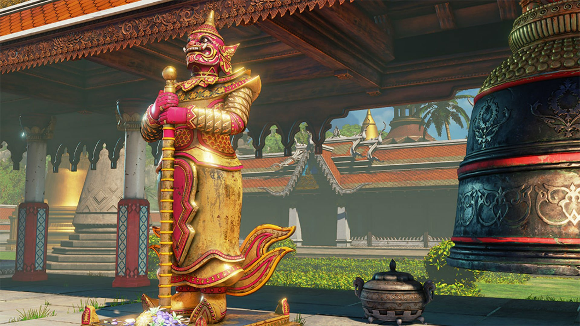 Street Fighter V takes Thailand to school with new DLC  screenshot