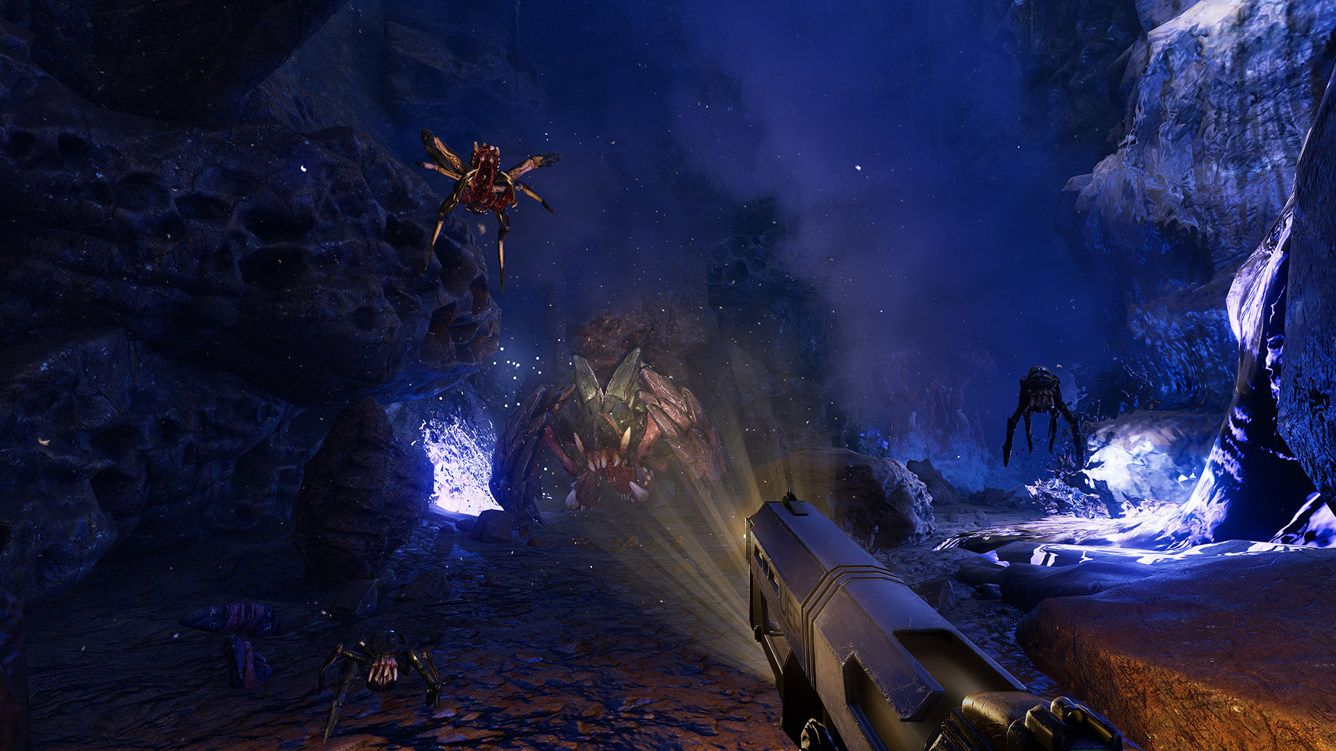 Farpoint looks like the next notable PlayStation VR game screenshot