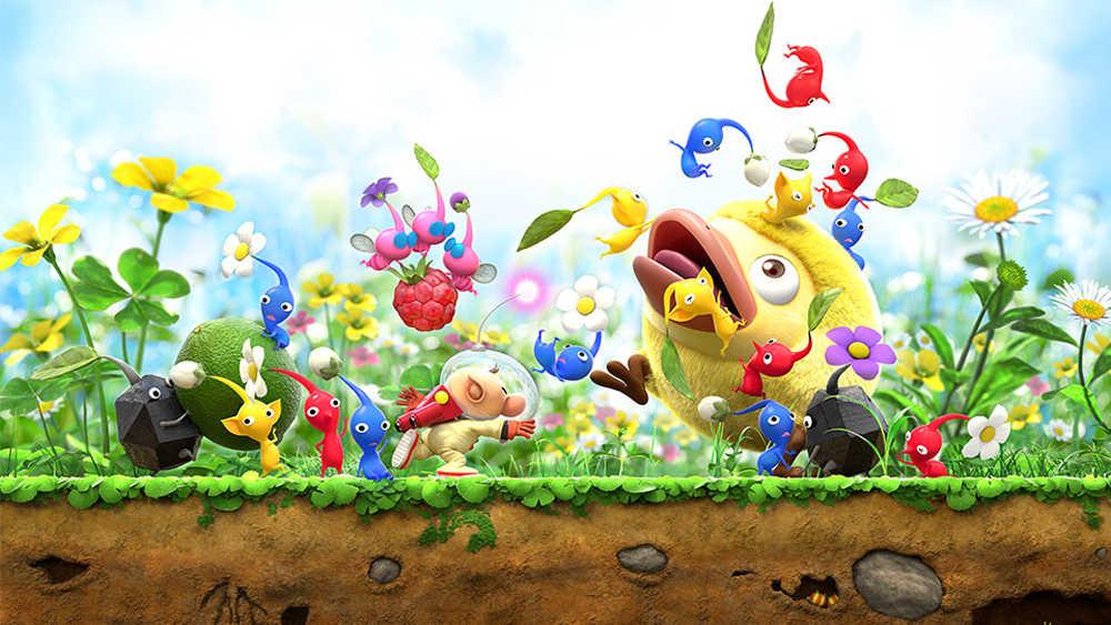 Hey! Pikmin comes from the studio behind Yoshi's New Island screenshot