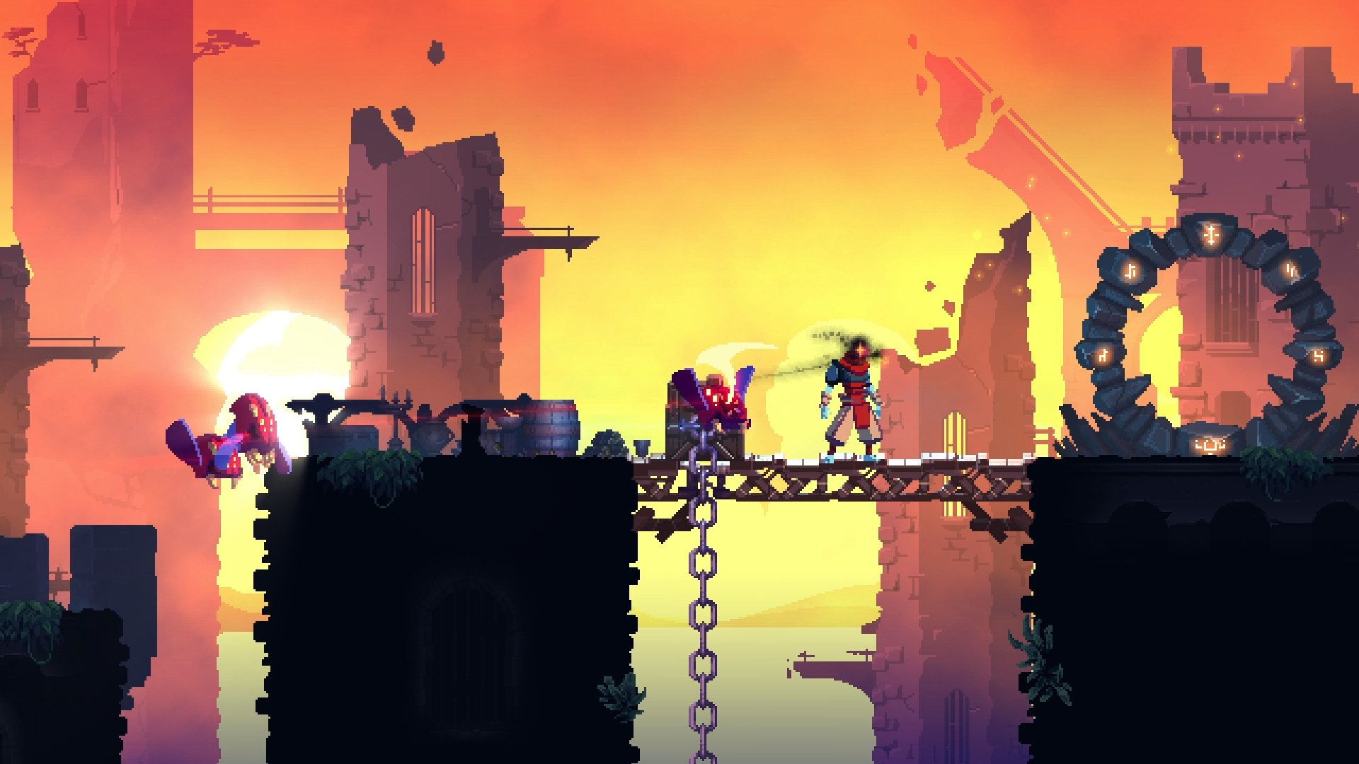 Castlevania-inspired roguelike Dead Cells hits Steam soon screenshot