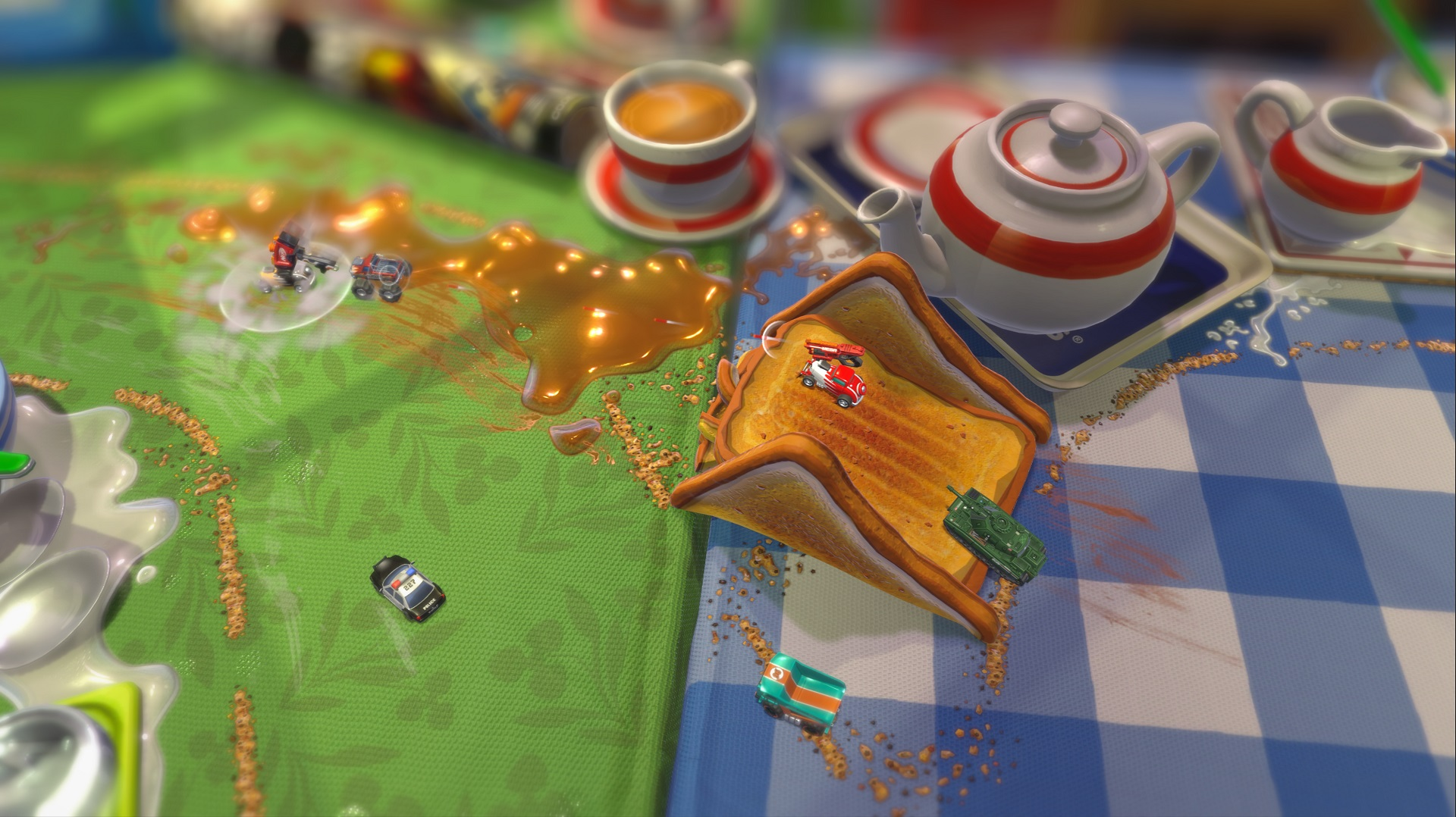 Here's our first big look at the new Micro Machines screenshot
