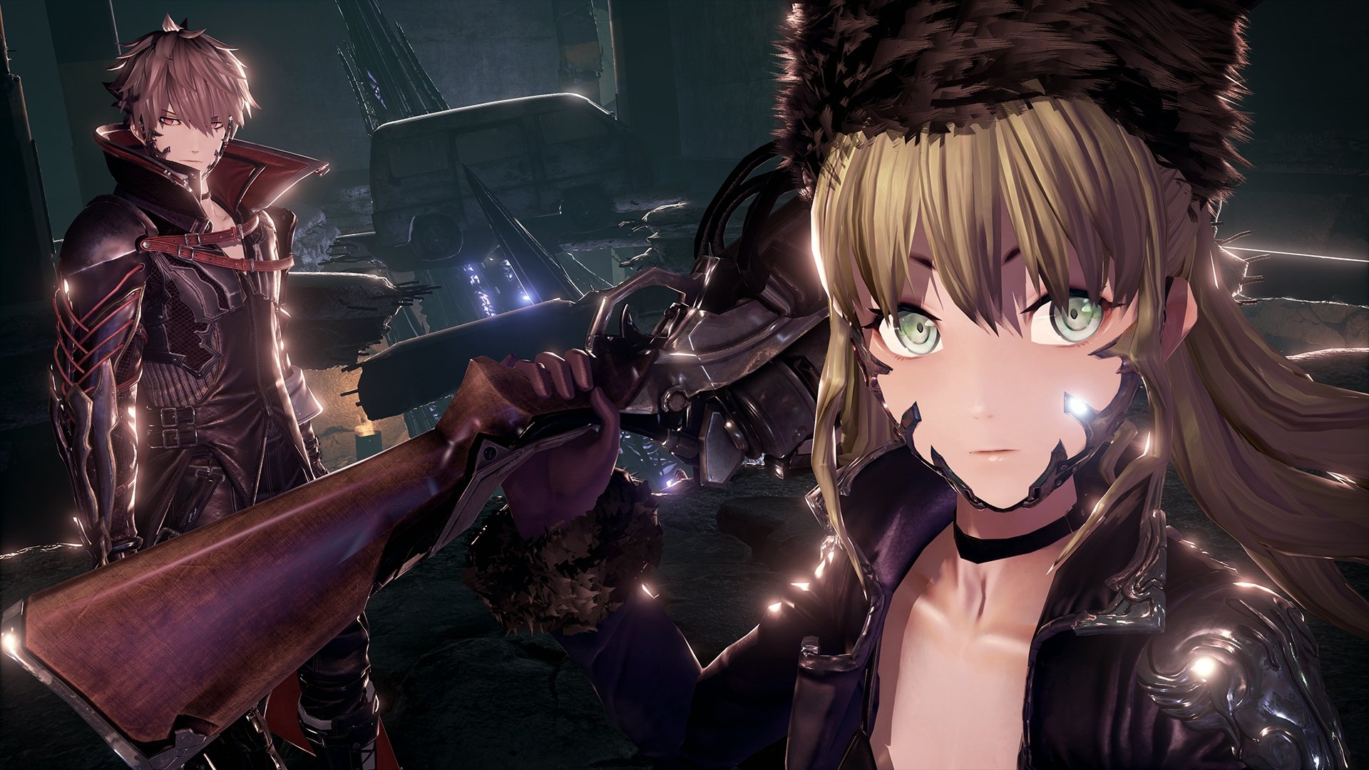 Code Vein photos surface, has a rad gothic anime style screenshot