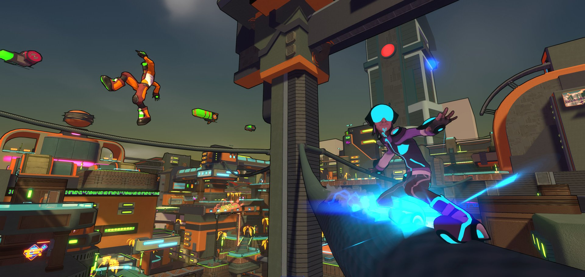 The composer of Jet Set Radio has new music for Hover screenshot
