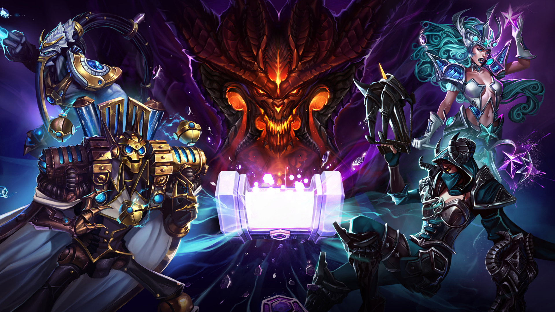 Blizzard is giving out 20 characters in Heroes of the Storm screenshot