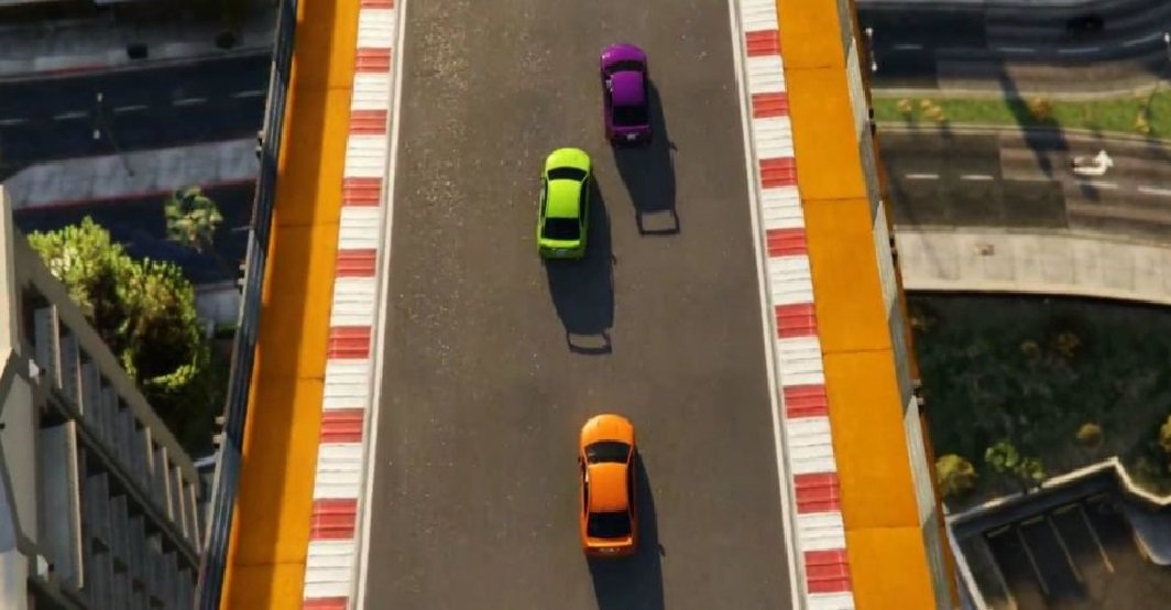 Grand Theft Auto online is getting a top down racing mode screenshot