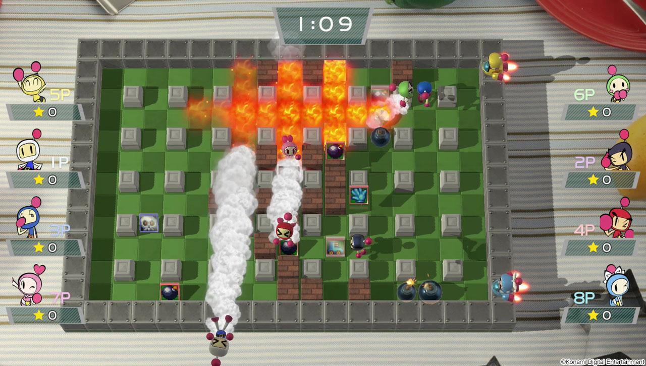 Super Bombeman R runs so much better now screenshot
