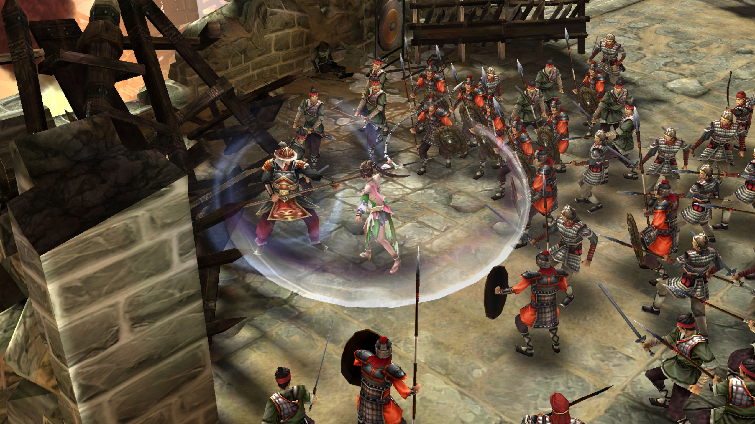 Dynasty Warriors: Unleashed team doesn't want to cut corners, despite its release on mobile screenshot