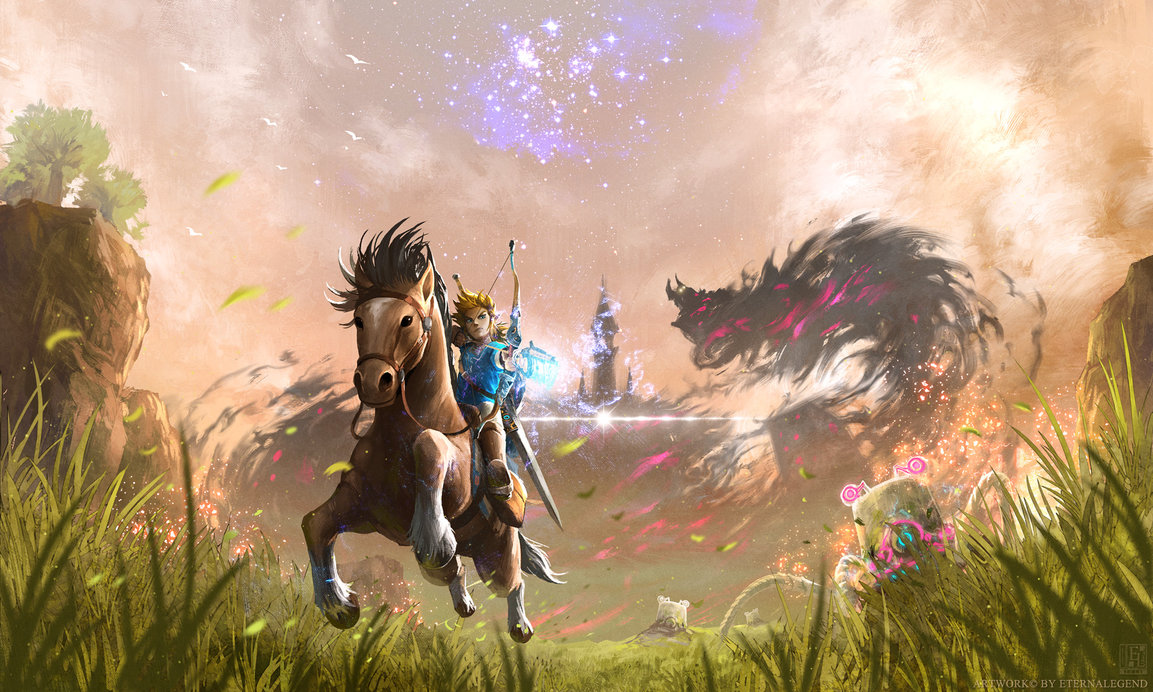 Breath of the Wild is both a masterpiece and a disaster screenshot
