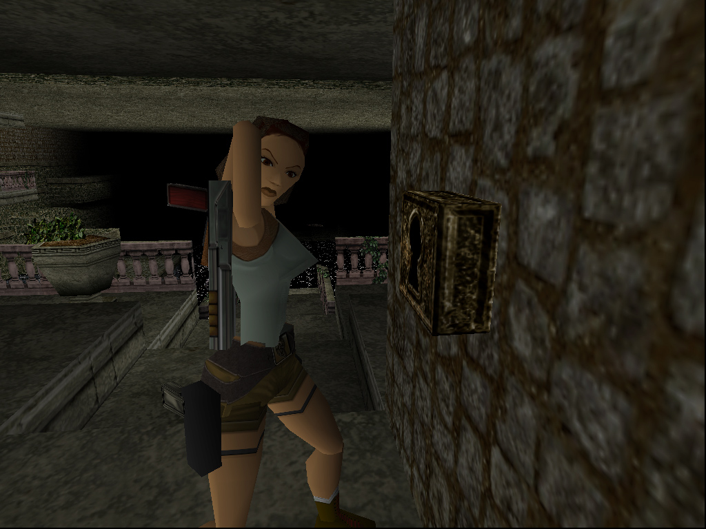 Relive the blocky, pixelated glory of the original Tomb Raider in your browser screenshot