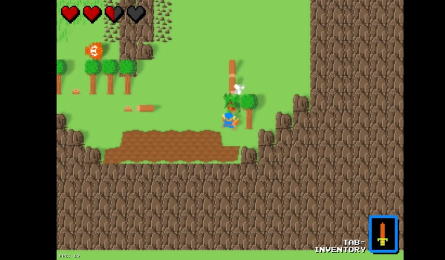 Try out this fan made Breath of the Wild demake before Nintendo rips it away screenshot
