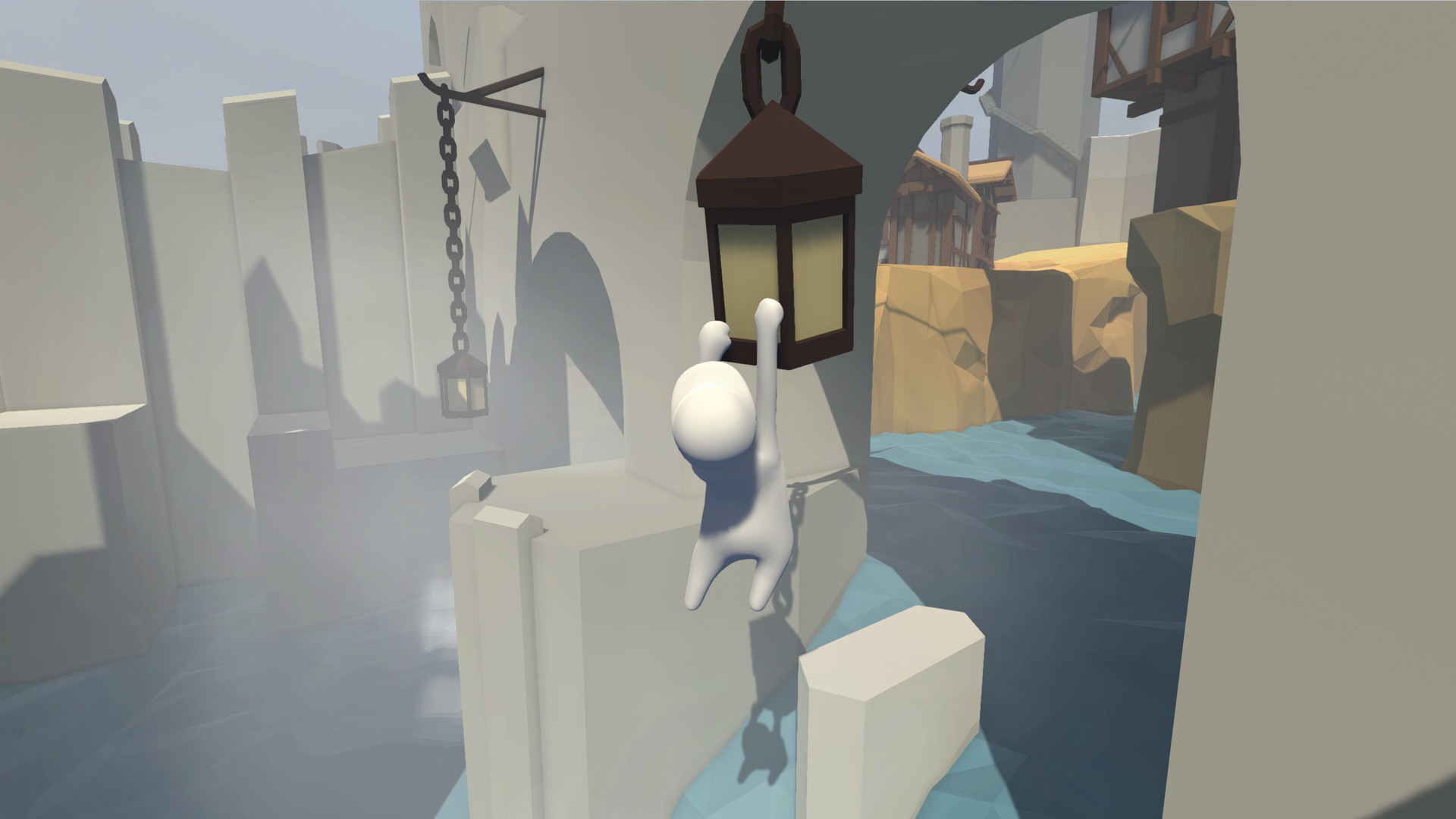 Human: Fall Flat's console release comes with another slapstick game for free screenshot
