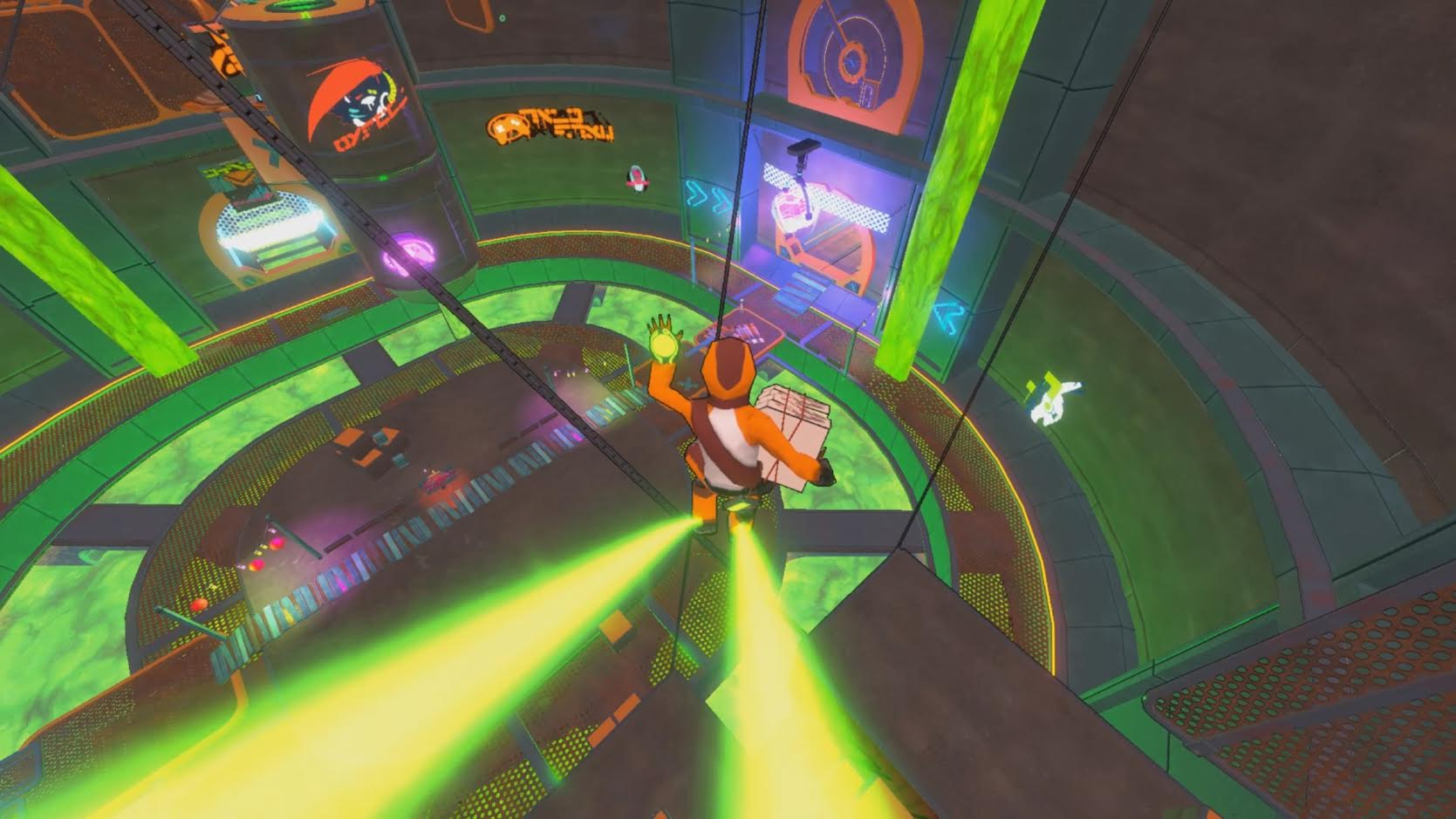 Hover: Revolt of Gamers is launching on May 31 screenshot