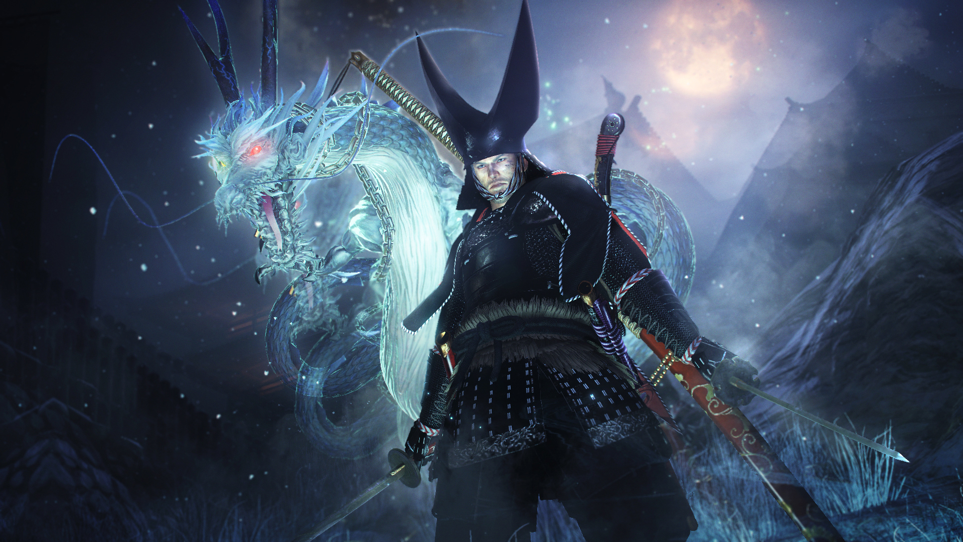 Take a look at Nioh's Dragon of the North DLC before Tuesday's launch screenshot