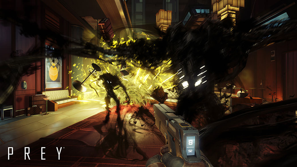 Your PC shouldn't go into system shock trying to run Prey screenshot
