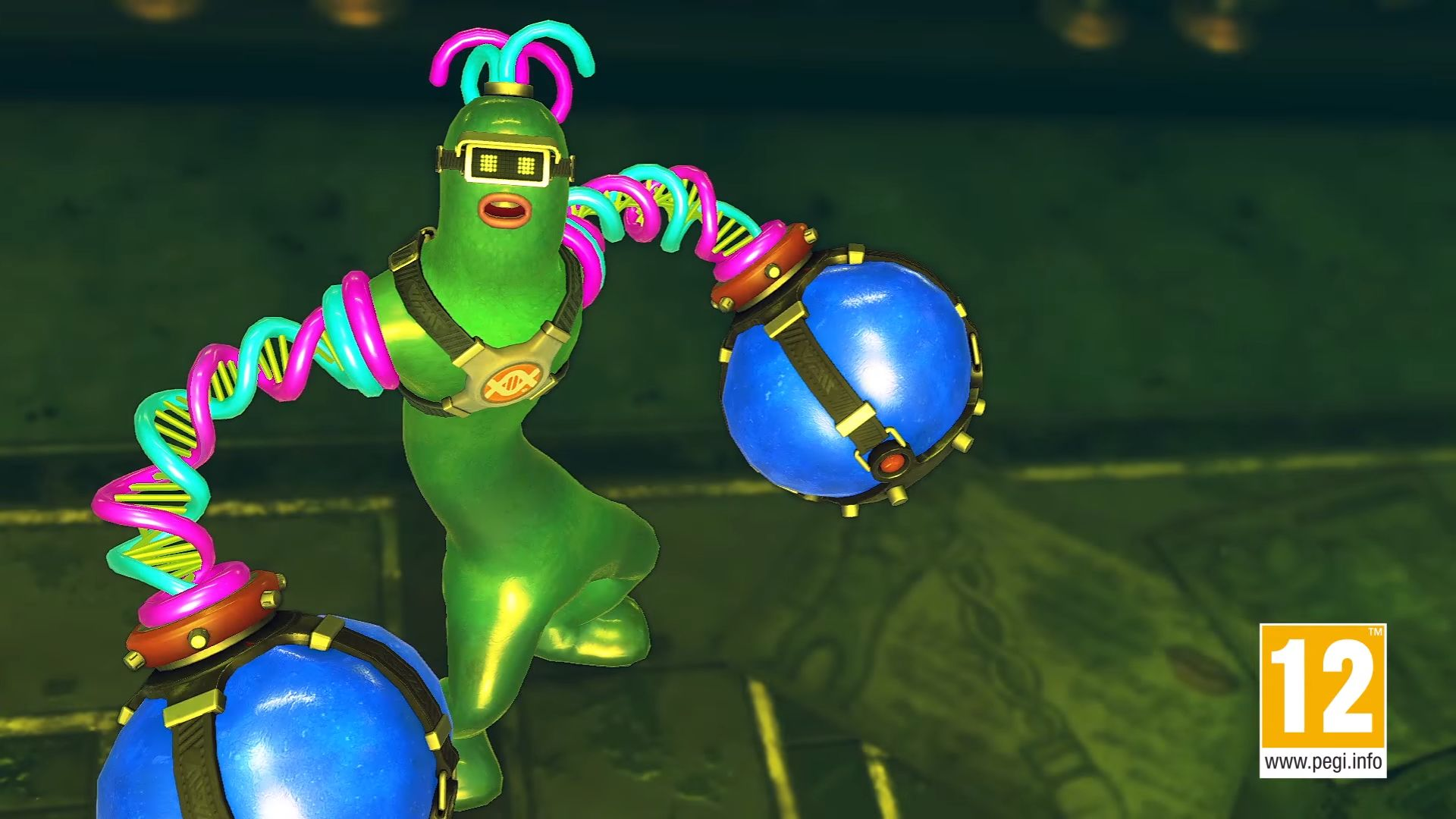 ARMS' New Character Is A Slightly More Anthropomorphic Version Of Flubber