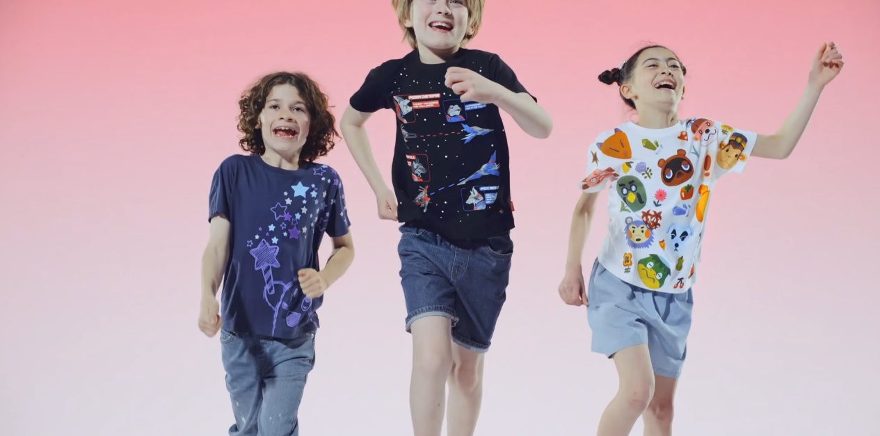 Uniqlo's getting Nintendo shirts soon and they're all stylish as heck screenshot