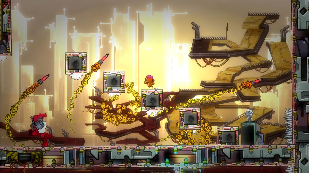 Review: Super Rude Bear Resurrection screenshot