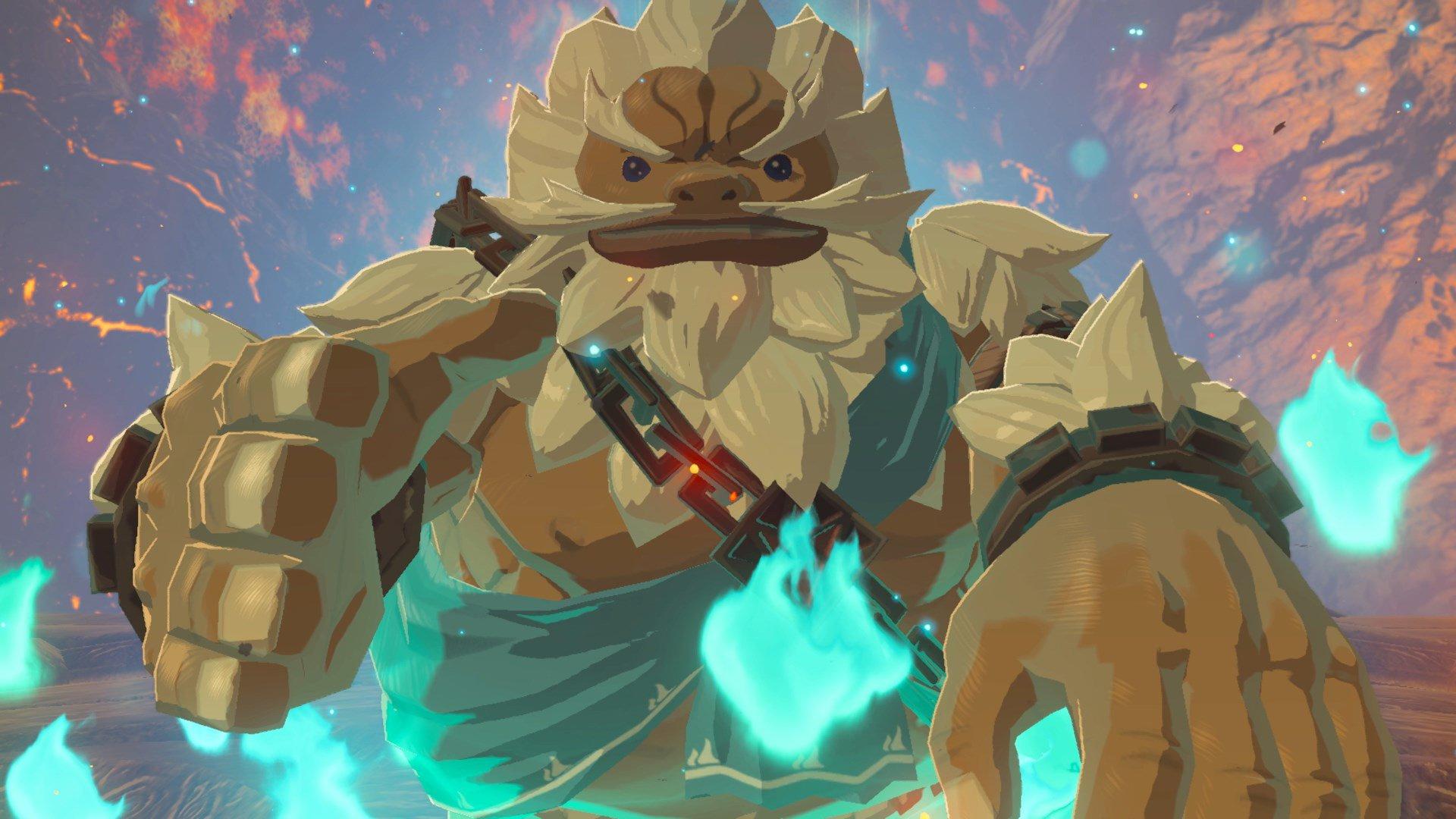 Zelda: Breath of the Wild update adds voice language options screenshot