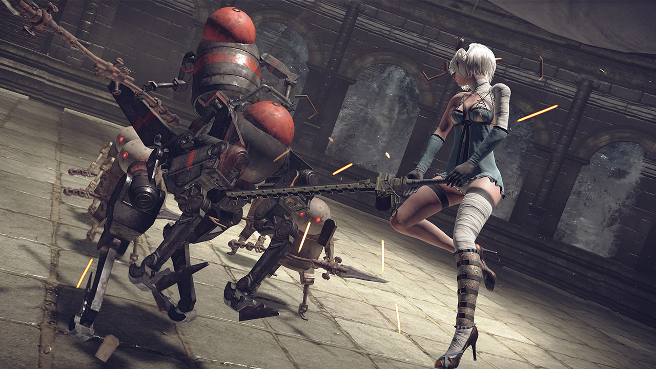 NieR: Automata's costume and coliseum DLC is out today screenshot
